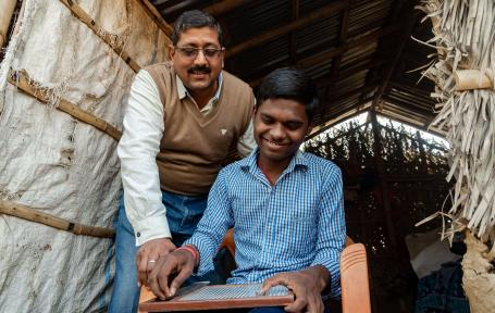 Royal Commonwealth Society for Blind – Sightsavers India: (2018 Recipient)
